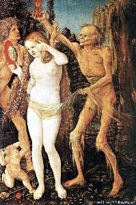 Hans Baldung - three ages of the woman and the death