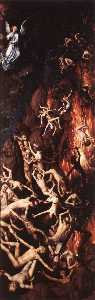 Hans Memling - last judgment triptych (d..