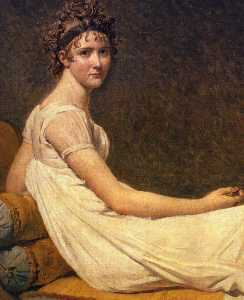 Jacques Louis David - madame recamier