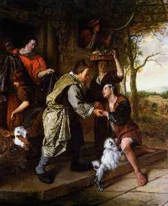 Jan Steen - Return of the prodigal so..