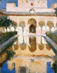 Joaquin Sorolla Y Bastida - Hall of the Ambassadors A..