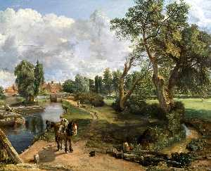 John Constable - Flatford Mill (' Scene on..