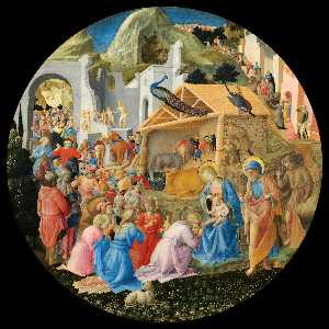Fra Filippo Lippi - The Adoration of the Magi