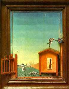 Max Ernst - Two Children are Threaten..