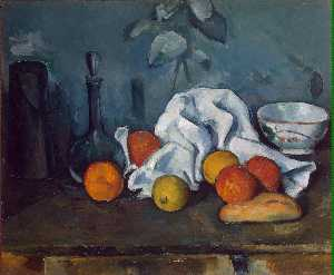 Paul Cezanne - fruit - -