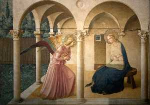 Fra Angelico - corridors - The Annunciat..