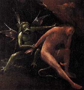 Hieronymus Bosch - Palazzo ducale, venice - hell (detail)