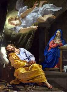 Philippe De Champaigne - The Dream of Saint Joseph