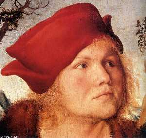 Lucas Cranach The Younger - Portrait of Johannes Cusp..