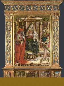 Carlo Crivelli - Altarpiece from S. France..