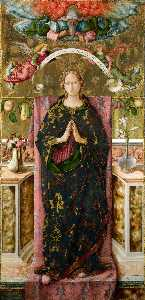 Carlo Crivelli - The immaculate conception