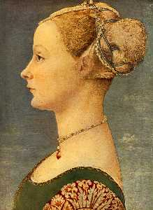 Domenico Veneziano - Portrait of a girl