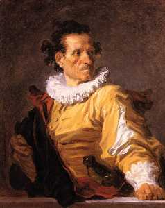 Jean-Honoré Fragonard - Portrait of a Man Called ..