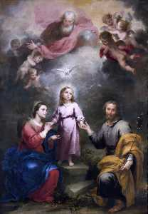 Bartolome Esteban Murillo - The Heavenly and Earthly ..