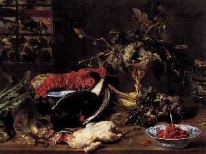 Frans Snyders - Still life With Crab And ..