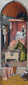 Hieronymus Bosch - Death and the Miser