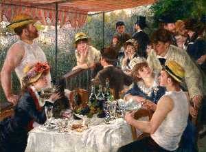 Pierre-Auguste Renoir - The Boating Party Lunch