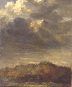 George Frederic Watts - Study of Clouds