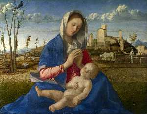Giovanni Bellini - madonna of the meadow (ma..