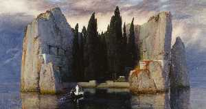 Arnold Bocklin - The isle of the dead (Ver..