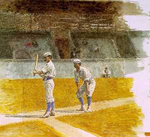 Thomas Eakins - Baseball Players Practici..