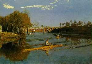 Thomas Eakins - Max schmitt in a single s..