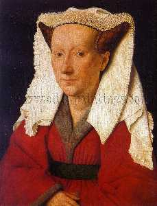 Jan Van Eyck - Portrait of Margaret van Eyck (Mrs. Jan van Eyck)