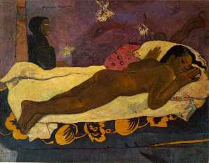 Paul Gauguin - Spirit of the dead watchi..