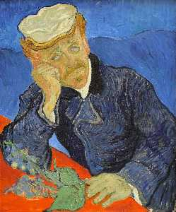 Vincent Van Gogh - Portrait du docteur Paul Gachet