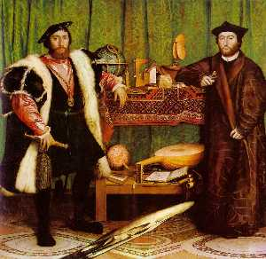 Hans Holbein The Younger - Ambassadors, National Gal..