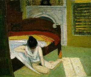 Edward Hopper - Summer interior, Whitney Museum of American Art