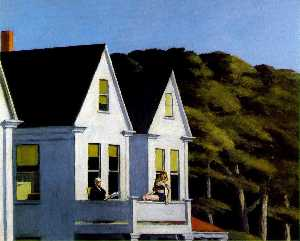 Edward Hopper - Second Story Sunlight, , ..