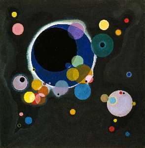 Wassily Kandinsky - Several Circles, Solomon ..