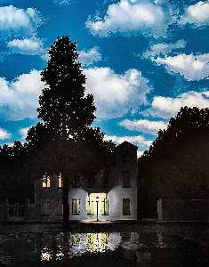 Rene Magritte - The Empire of Light