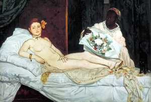 Edouard Manet - Olympia, Musee d-Orsay, Paris