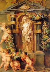 Peter Paul Rubens - Statue of Ceres