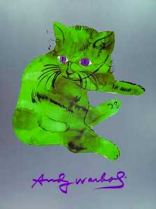 Andy Warhol - A cat named sam - (2602637)