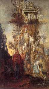 Gustave Moreau - The Muses Leaving Their F..