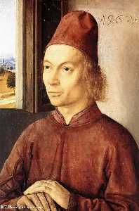Dieric Bouts - Portrait of a Man