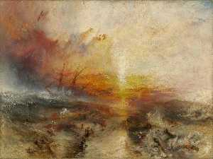 William Turner - The slave ship