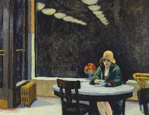 Edward Hopper - Automat (small)