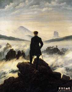 Caspar David Friedrich - Wanderer above the Mists