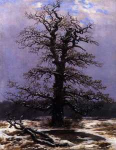 Caspar David Friedrich - in the Snow