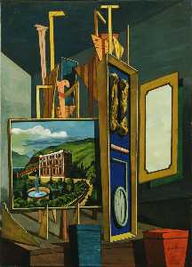 Giorgio De Chirico - Great metaphysical interi..