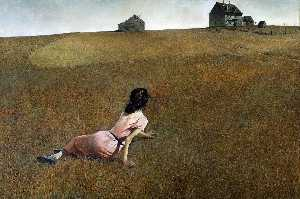 Andrew Wyeth - Christina-s World