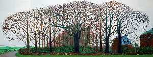 David Hockney - Bigger Trees Near Warter ..