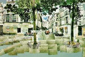 David Hockney - Place furstenberg, paris