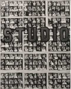 Walker Evans - Penny picture display, sa..