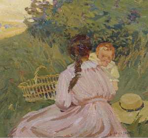 Dorothea Sharp - Sunday picnic