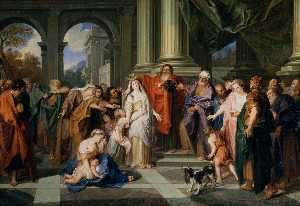 Charles Antoine Coypel - Susannah accused of adultery